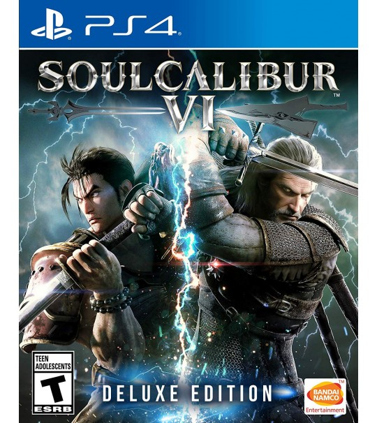 PS4 SOUL CALIBUR VI R3 DELUXE EDITION
