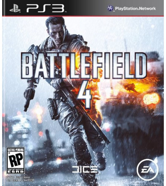 PS3 BATTLEFIELD 4 - R3