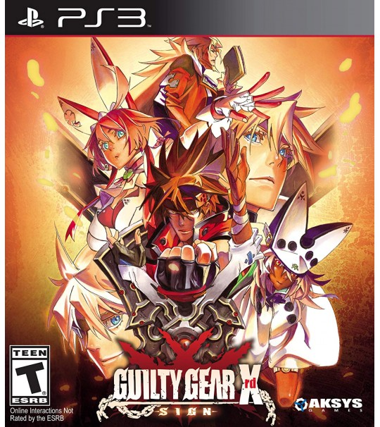 PS3 GUILTY GEAR XRD SIGN - ALL