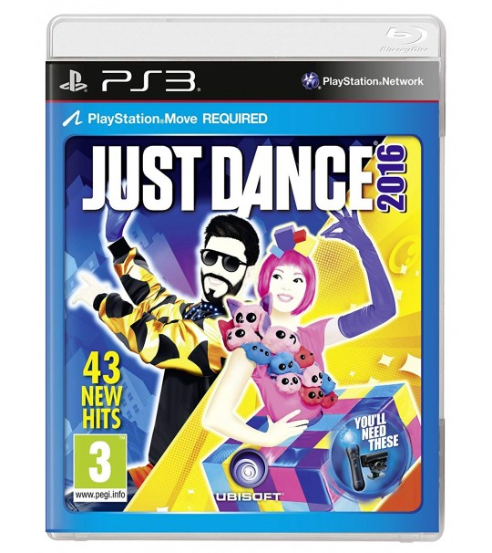 PS3 JUST DANCE 2016 - R3