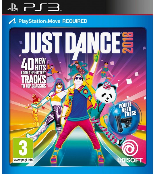 PS3 JUST DANCE 2018 - R2