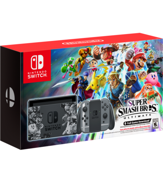 NINTENDO SWITCH SUPER SMASH BROS EDITION 1 YEAR MAXSOFT WARRANTY