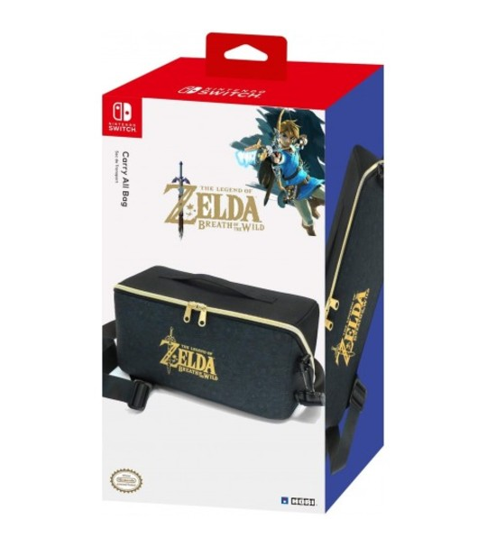 NINTENDO SWITCH HORI CARRY ALL BAG ZELDA BREATH OF THE WILD EDITION