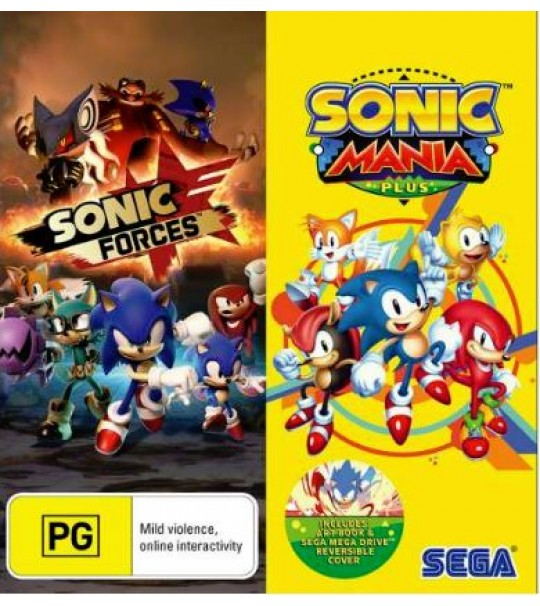 PS4 SONIC FORCE & SONIC MANIA PLUS DOUBLE PACK R2