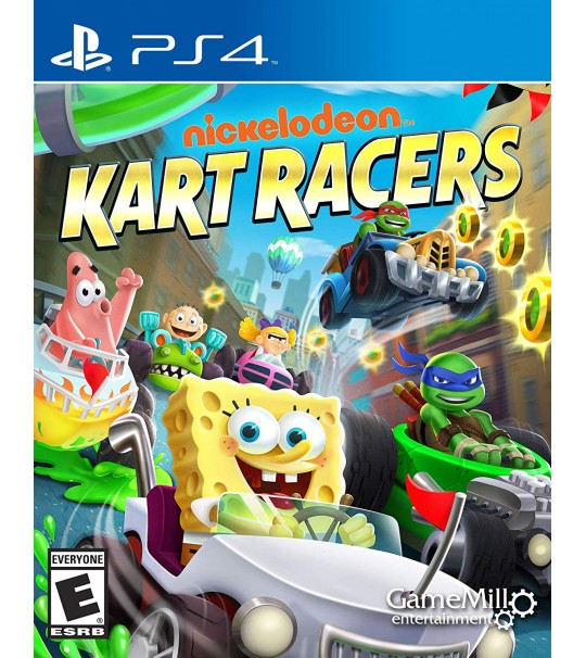 PS4 NICELODEON KART RACERS R2