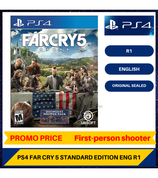 PS4 FAR CRY 5 R1 ENGLISH VERSION