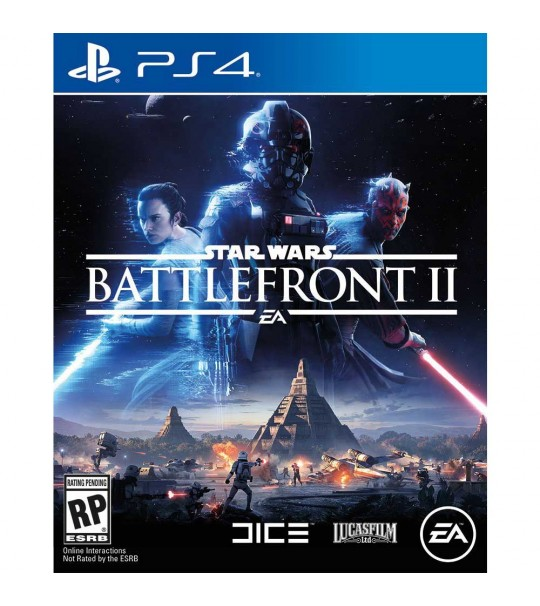 PS4 STAR WARS BATTLEFRONT II - R1/ALL