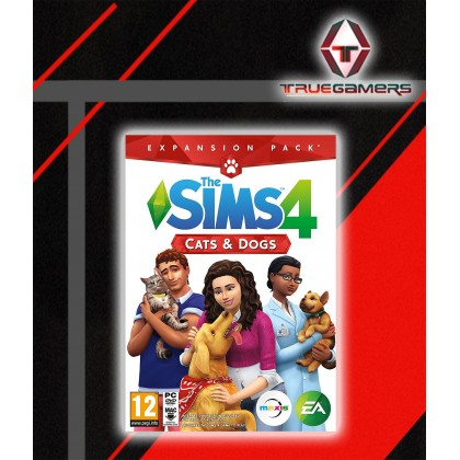 PC THE SIMS 4 + CATS AND DOG BUNDLE DIGITAL CODE ONLY