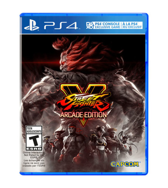 PS4 STREET FIGHTER V ARCADE EDITION - R1/ALL