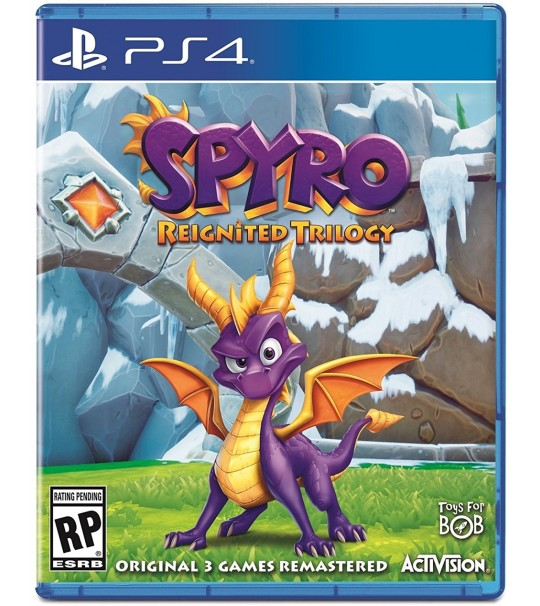 PS4 SPYRO REIGNITE TRILOGY R3