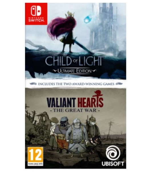 SWITCH CHILD OF LIGHT + VALIANT HEARTS 2IN1 [PRE ORDER 31/01/2019]