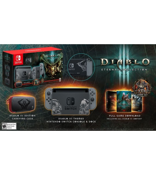 NINTENDO SWITCH DIABLO III ETERNAL COLLECTION UK SET
