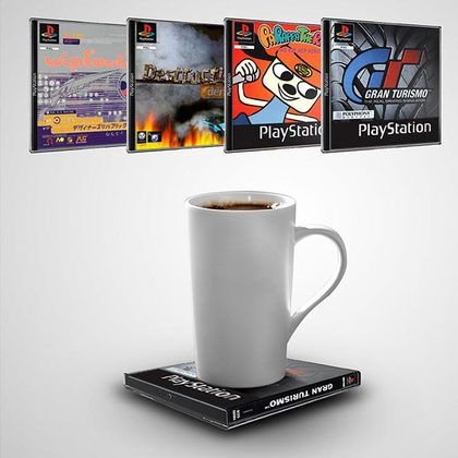 PLAYSTATION OFFICIALLY GAME COASTERS