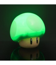 SUPER MARIO 1 UP MUSHROOM GREEN LIGHT