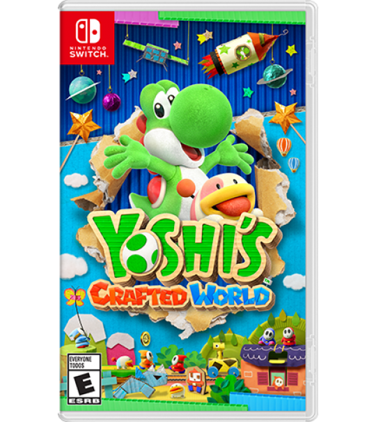 SWITCH YOSHI CRAFTED WORLD [PRE ORDER 29/03/2019]