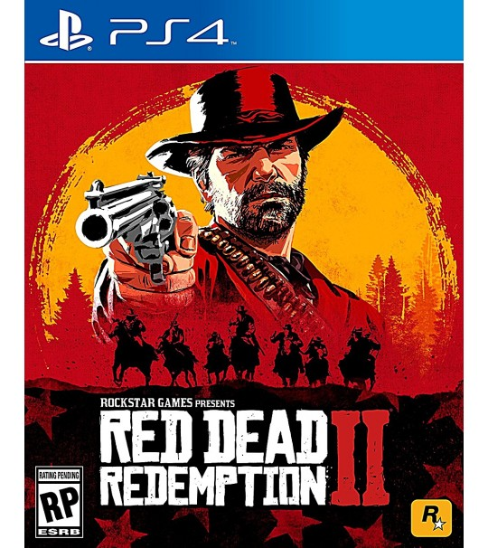 PS4 RED DEAD REDEMPTION 2 STANDARDS EDITION ALL REGION ENGLISH