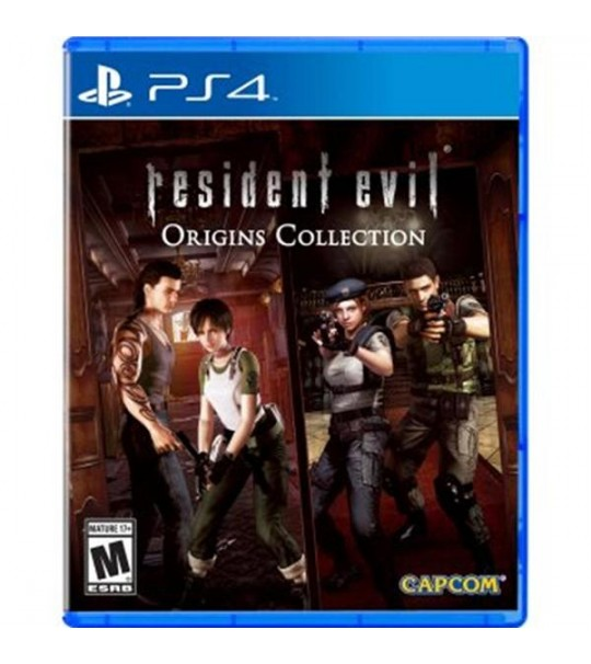 PS4 RESIDENT EVIL ORIGINS COLLECTION R1/ALL