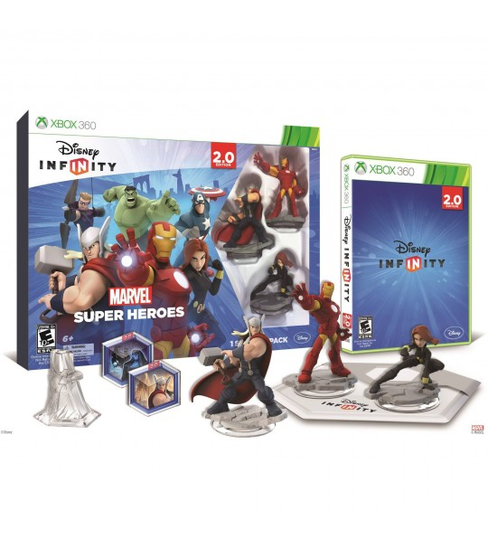 XBOX 360 MARVEL SUPER HEROES INFINITY 2.0 EDITION - (1 STARTER PACK)