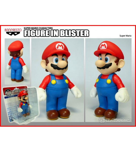 SUPER MARIO CHARACTERS FIGURE IN BLISTER - MARIO