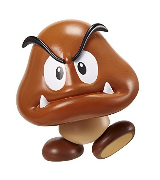 SUPER MARIO CHARACTERS FIGURE IN BLISTER - GOOMBA