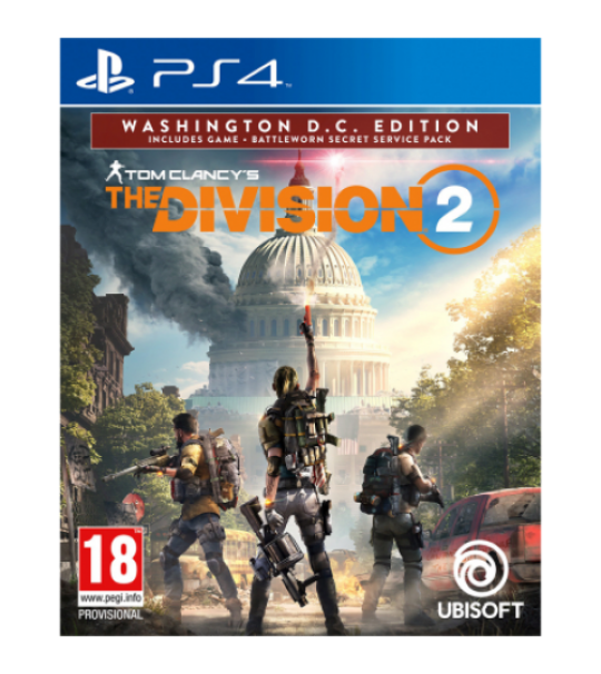PS4 TOM CLANCY'S THE DIVISION 2 R3 ENG WASHINGTON D.C ED [PRE ORDER 15/3/2019]