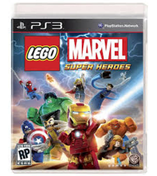 PS3 LEGO MARVEL AVENGERS - ALL