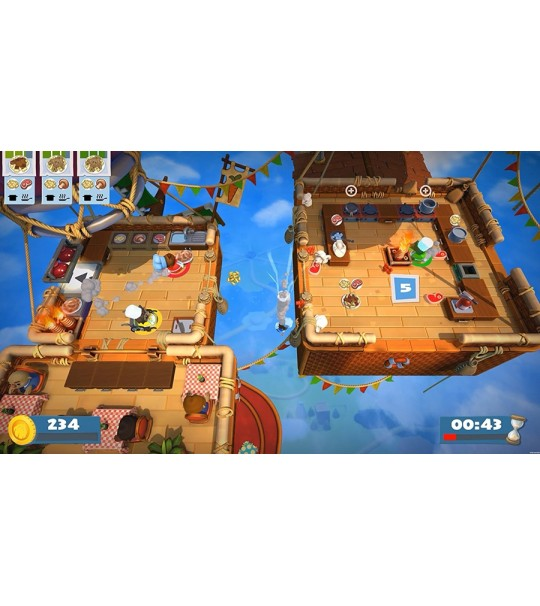 PS4 OVERCOOKED 2 ENG R1/ALL