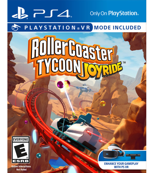 PS4 ROLLER COASTER TYCOON JOYRIDE - ALL