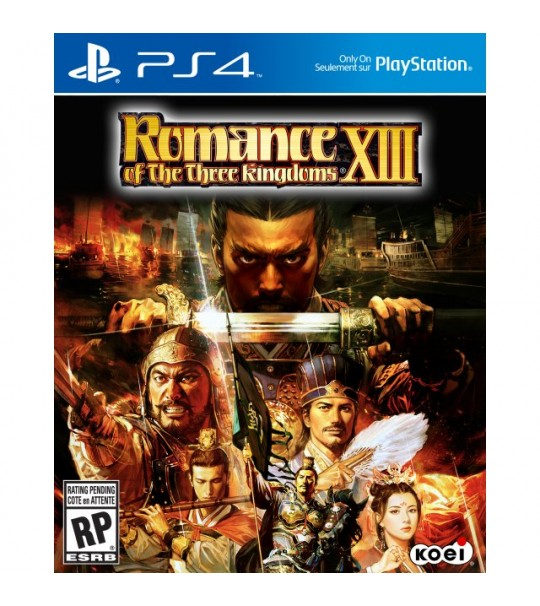 PS4 ROMANCE OF THE THREE KINGDOM XIII R3 - ENG VER