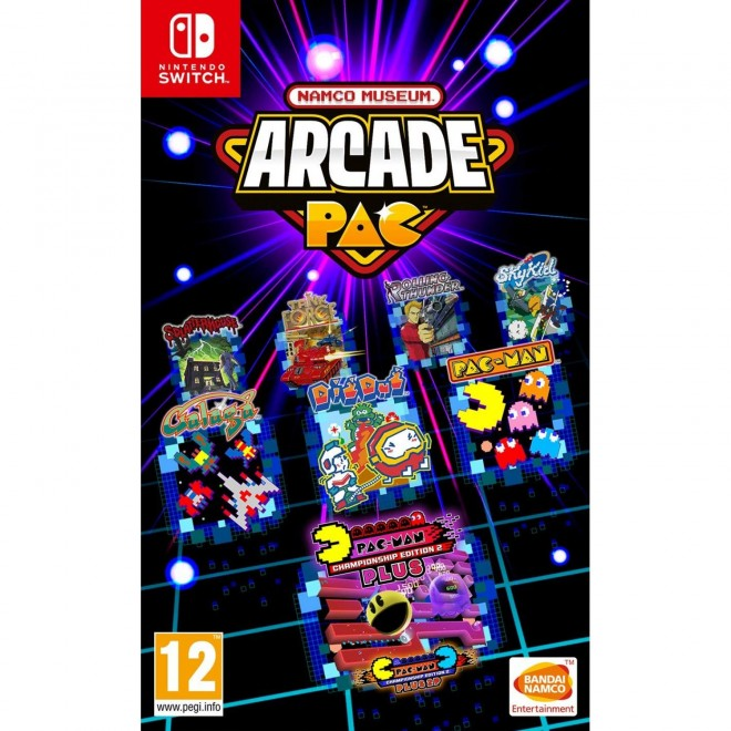 SWITCH NAMCO MUSEUM ARCADE PAC