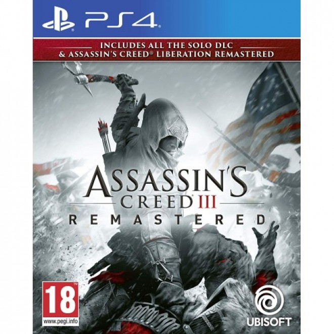 PS4 ASSASSINS CREED III REMASTERED R3 ENG [PRE ORDER 29/03/2019]