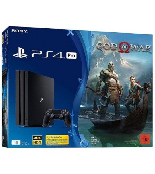PS4 PRO GOD OF WAR 1TB BUNDLE ASIA SET + MARVEL SPIDERMAN + MYSTERY FREE GIFT