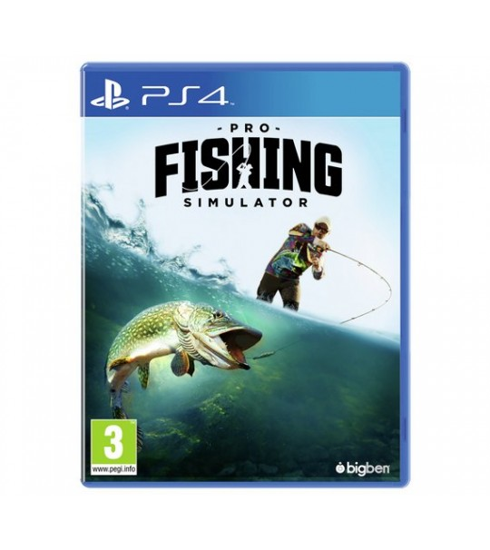 PS4 PRO FISHING SIMULATOR - R2