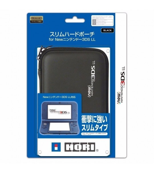 NINTENDO NEW 3DS LL/XL AIRFOAM POUCH - BLACK