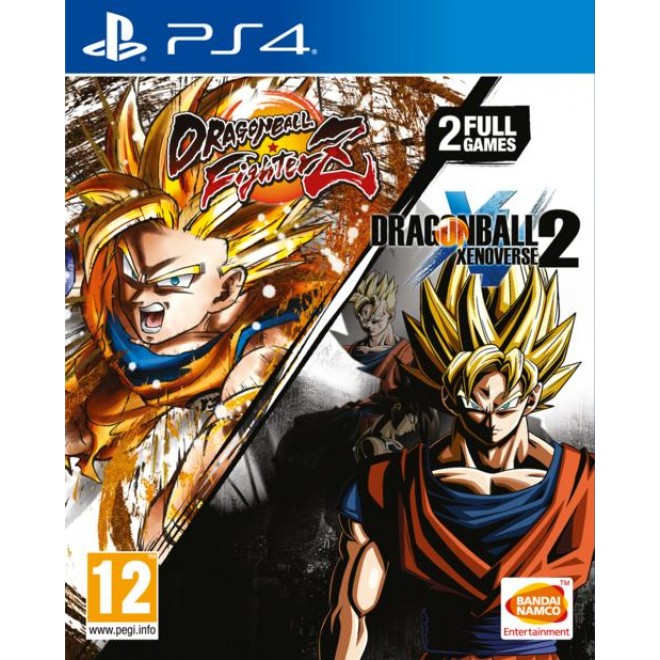 PS4 DRAGON BALL FIGHTER Z + DRAGONBALL XENOVERSE 2 COLLECTION R2