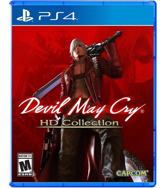 PS4 DEVIL MAY CRY HD COLLECTION R1 ENG
