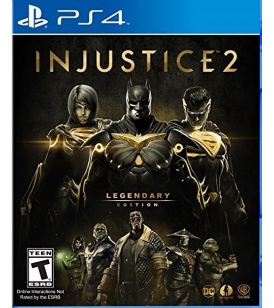 PS4 INJUSTICE 2 LEGENDARY EDITION R1 ENG