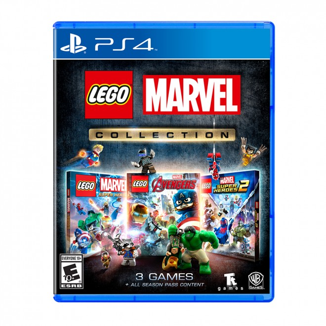 PS4 LEGO MARVEL COLLECTION - ALL ENG