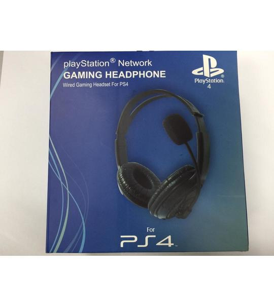 PS4 WIRED HEADSET - 3RD PARTY
