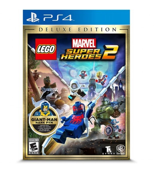 PS4 LEGO MARVEL SUPER HEROES 2 DELUXE EDITION - R2