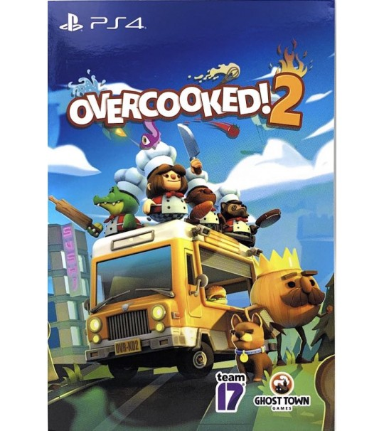 PS4 OVERCOOKED 2 DIGITAL CODE VERSION R3