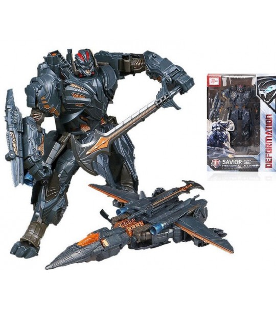 TRANSFORMERS MEGATRON DEFORMATION SAVIOR THE LAST KNIGHT ROBOT ACTION