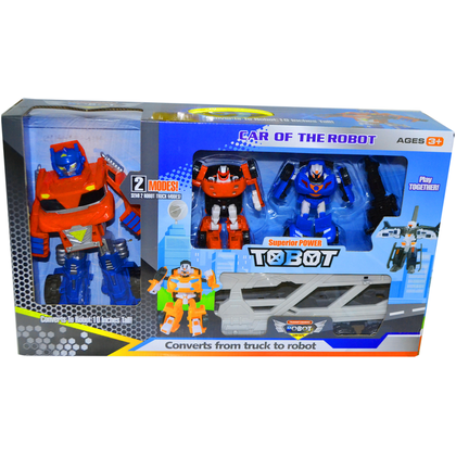 TRANSFOMER SUPER POWER TOBOT CAR OF THE ROBOT MODEL - 714AB