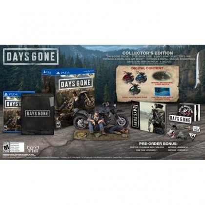 PS4 DAYS GONE COLLECTOR EDITION R3 CHN/ENG