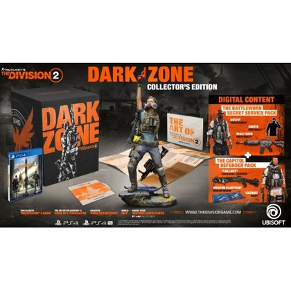 PS4 TOM CLANCY'S THE DIVISION 2 R3 DARK ZONE COLLECTOR EDITION