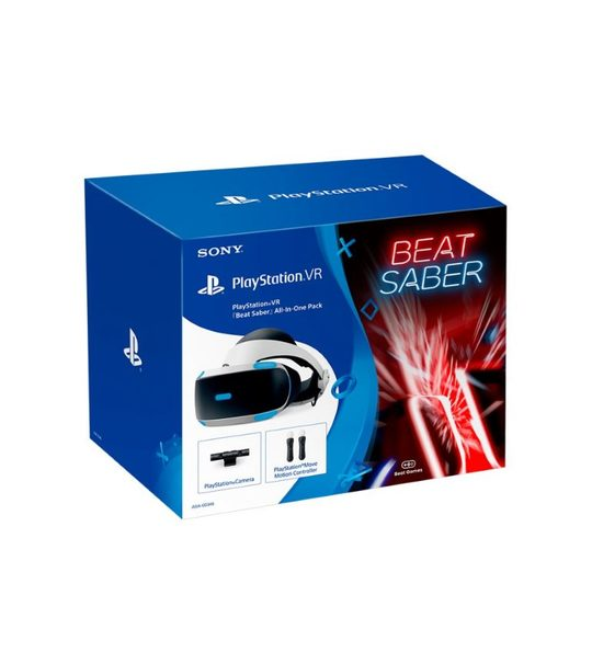 PLAYSTATION VR BEAT SABER BUNDLE V2