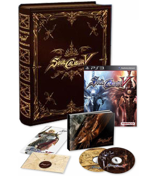 PS3 SOUL CALIBUR V COLLECTORS EDITION R3