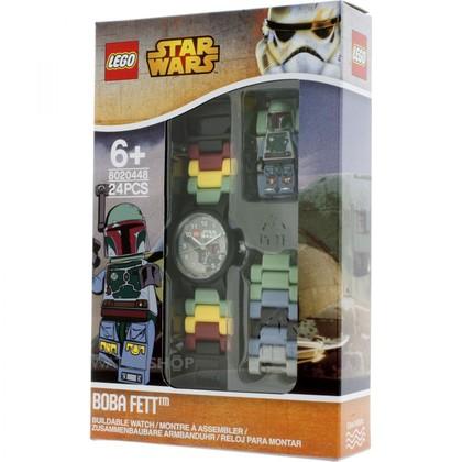 LEGO KIDS MINI FIG WATCH BOBA FETT (8020448)