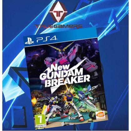 PS4 NEW GUNDAM BREAKER ENGLISH R1 ENG