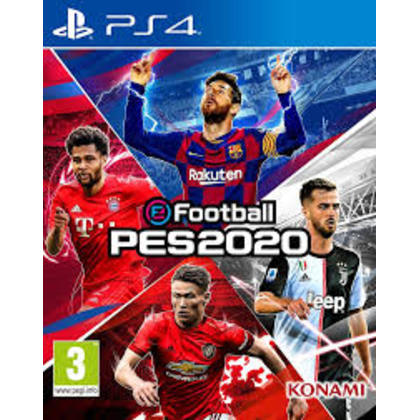 PS4 eFootball PES 2020 R2 ENGLISH